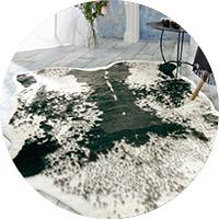 Felldecken webpelzdecken kaufen sie online bei - Kuhfell teppich schwarz ...